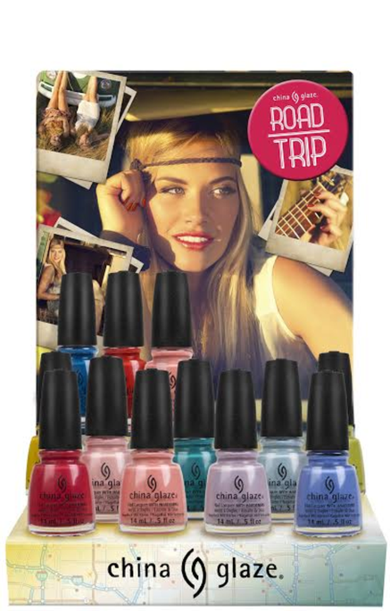 China Glaze Road Trip Nail Lacquer Collection
