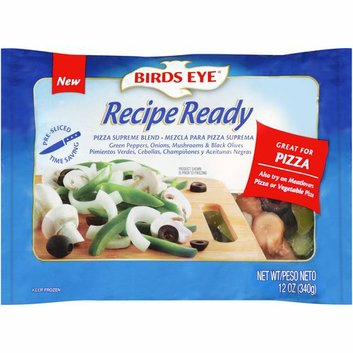 Birds Eye Recipe Ready Pizza Supreme Blend