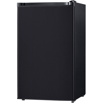 Keystone Energy Star 4.4 Cu. Ft. Compact Single-Door Refrigerator with Freezer Compartment, Black, KSTRC44CB