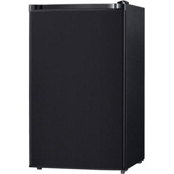 Keystone Energy Star 4.4 Cu. Ft. Compact Single-Door Refrigerator with Freezer Compartment, Black, KSTRC44CB