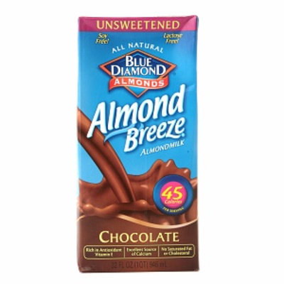 Blue Diamond Almond Breeze Unsweetened Almond Milk
