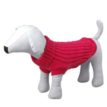 Overstock Pet Life Pink Collared Pet Sweater