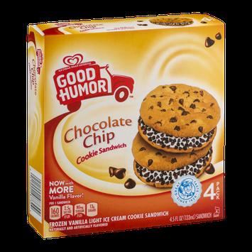 Good Humor Chocolate Chip Cookie Sandwich - 4 CT