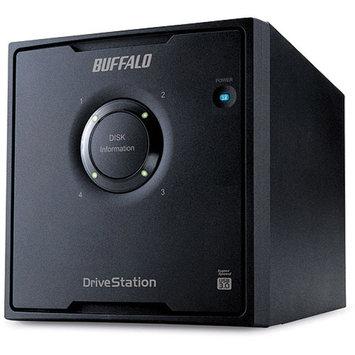 Buffalo Technology BUFFALO DriveStation Pro HD-QH12TU3/R5 - Hard drive array - 12 TB - 4 bays ( SATA-300 ) - 4 x 3 TB - USB 3.0 (external)