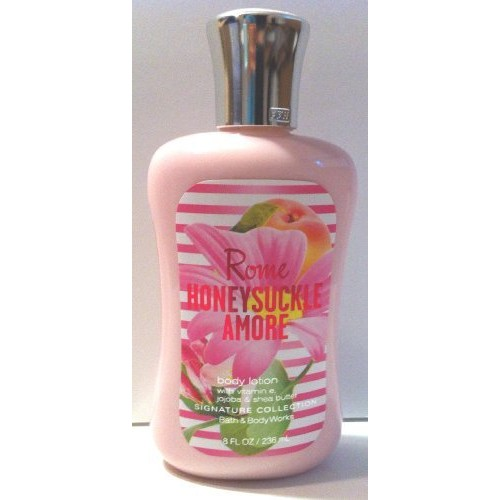 Bath Body Works Rome Honeysuckle Amore Body Lotion 8 Oz By Bath & Body Works
