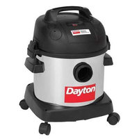 DAYTON 22XJ61 Wet/Dry Vacuum,2 HP,4 gal,120V