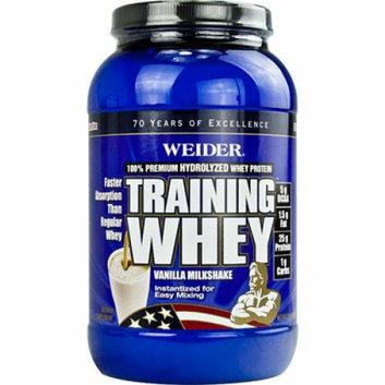 Weider Global Nutrition Whey Protein Milkshake Vanilla 2 lbs