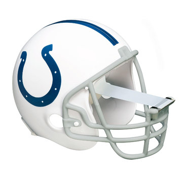 Scotch Magic Tape Dispenser Indianapolis Colts Football Helmet - Holds Total 1 Tape[s] - Refillable - White (c32helmetind)