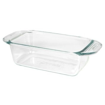 Pyrex Grip Rite 1.5 Quart Glass Loaf Pan - Clear