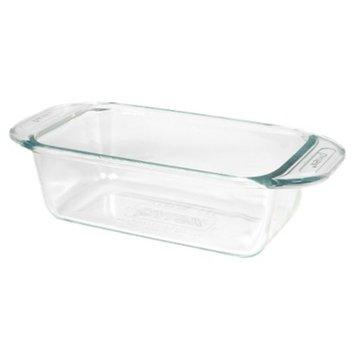 Pyrex Grip Rite 1.5 Quart Glass Loaf Pan - Clear