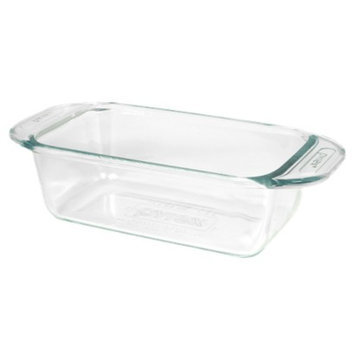 Pyrex Grip Rite 1.5 Quart Glass Loaf Pan