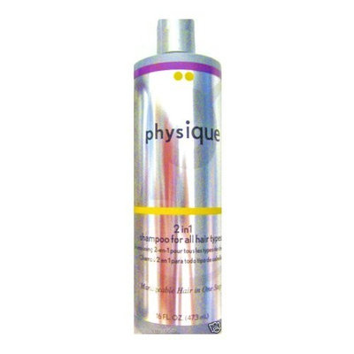 Physique 2 in 1 Shampoo for All Hair Types - 16 Oz.