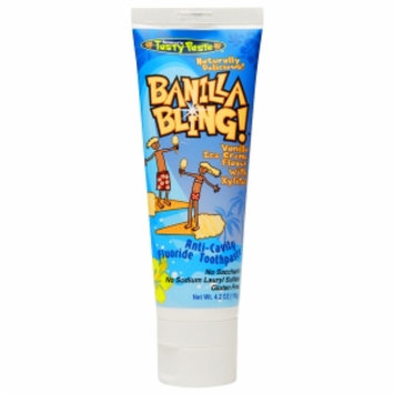 Tanners Tasty Paste Banilla Bling Toothpaste
