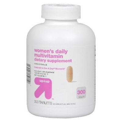 Up & Up Women's Daily Multivitamin Tablets 300-pk.