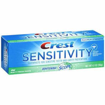 Crest Sensitivity Whitening + Scope Toothpaste