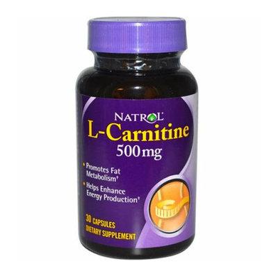 Natrol L-Carnitine 500 mg 30 Capsules
