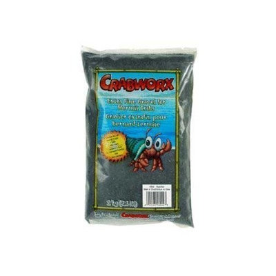 Crabworx Extra Fine Crab Gravel, 4.4-Pound, Black