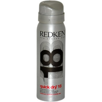 Quick Dry 18 Instant Finishing Spray Maximum Control by Redken for Unisex - 2 Ounce Hair Spray