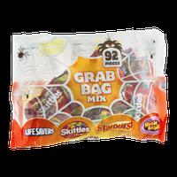Grab Bag Mix Lifesavers Skittles Starburst Hubba Bubba - 92 CT