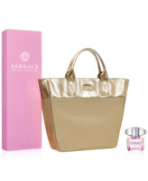 Versace Bright Crystal 3.0 oz Eau de Toilette Spray + Complimentary Tote Bag