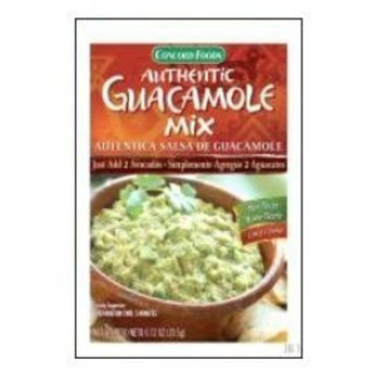 Concord Authentic GUACOMOLE Seasoning Mix - 18 packets .72oz each