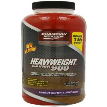 Champion Nutrition Heavyweight Gainer 900 Calorie High-Density Mass Gainer, Chocolate Brownie,3.3 Pounds