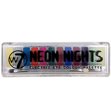 W7 Neon Nights Electric Eye Shadow Colour Palette []