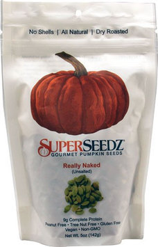 Superseedz PMPKN SDZ, REALLY NAKED, (Pack of 6)