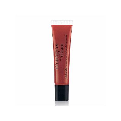 philosophy high-gloss  high-flavor lip shine  mangos and cream  .5 oz