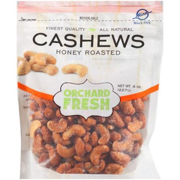 Hines Orchard Fresh Honey Roasted Cashews, 8 oz