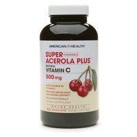 American Health Chewable Super Acerola Plus