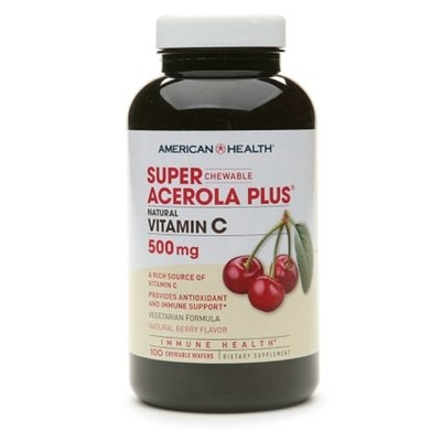 American Health Chewable Super Acerola Plus