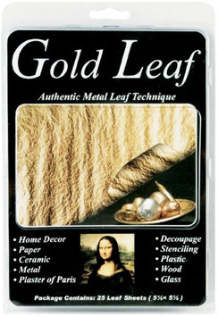 Speedball Art Products 25/Pkg Gld-Leafing Sheets