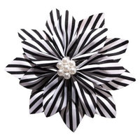 Gimme Couture Audrey Hair Clip - Black/White