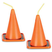 Party Destination 174080 Construction Cone Cup