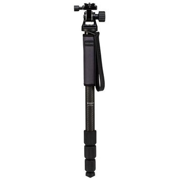 Induro GIM304LTH2 Grand Stealth Series 3 Carbon Fiber Monopod Kit with TH2 Tilt Head, 4 Sections