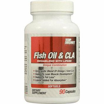 Top Secret Nutrition Fish Oil and CLA Megablend 90 Softgels