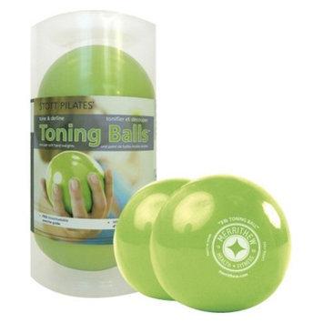 STOTT PILATES Toning Ball 2-Pack 3 lb