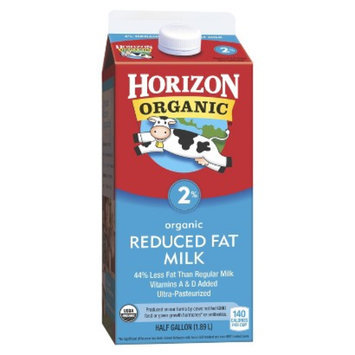 Horizon Organic 2% Reduced Fat Milk .5 gal