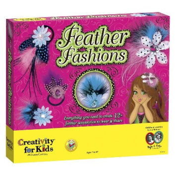 Creativity for Kids Creativity For Kids Feather Fashions
