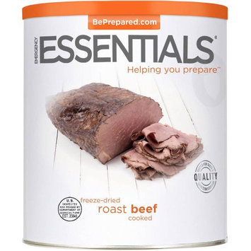Emergency Essentials Food Cooked Freeze-Dried Roast Beef, 25 oz