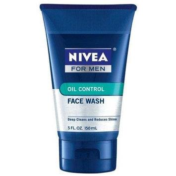 Nivea For Men, Oil Control Face Wash, 5 Fl. Oz., Pack of 3