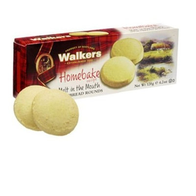 Walkers Homebake Shortbread Rounds-4.2 oz