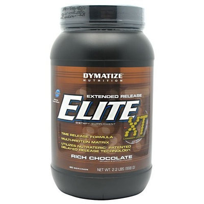 Dymatize Nutrition 12-Hour Elite, Rich Chocolate, 2.2 Pound