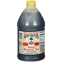 Aunt Bertie's Sweet Brewed Tea Concentrate, 0.5 gal