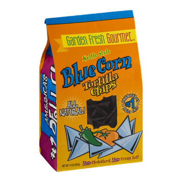 Garden Fresh Gourmet Kettle Style Blue Corn Tortilla Chips