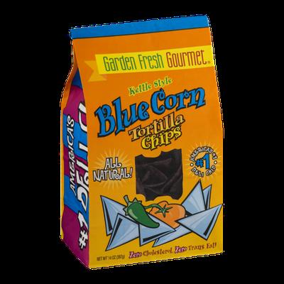 Garden Fresh Gourmet Kettle Style Blue Corn Tortilla Chips
