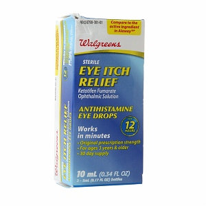 Walgreens Eye Itch Relief Eye Drops