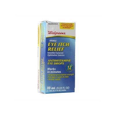 Walgreens Eye Itch Relief Eye Drops
