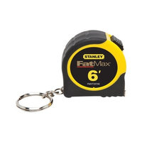 Stanley FMHT33706W Fat Max Keychain Tape Rule, 1/2-Inch by 6-Feet [1-Pack]